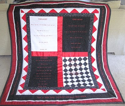 Twilight Book Quilt 001